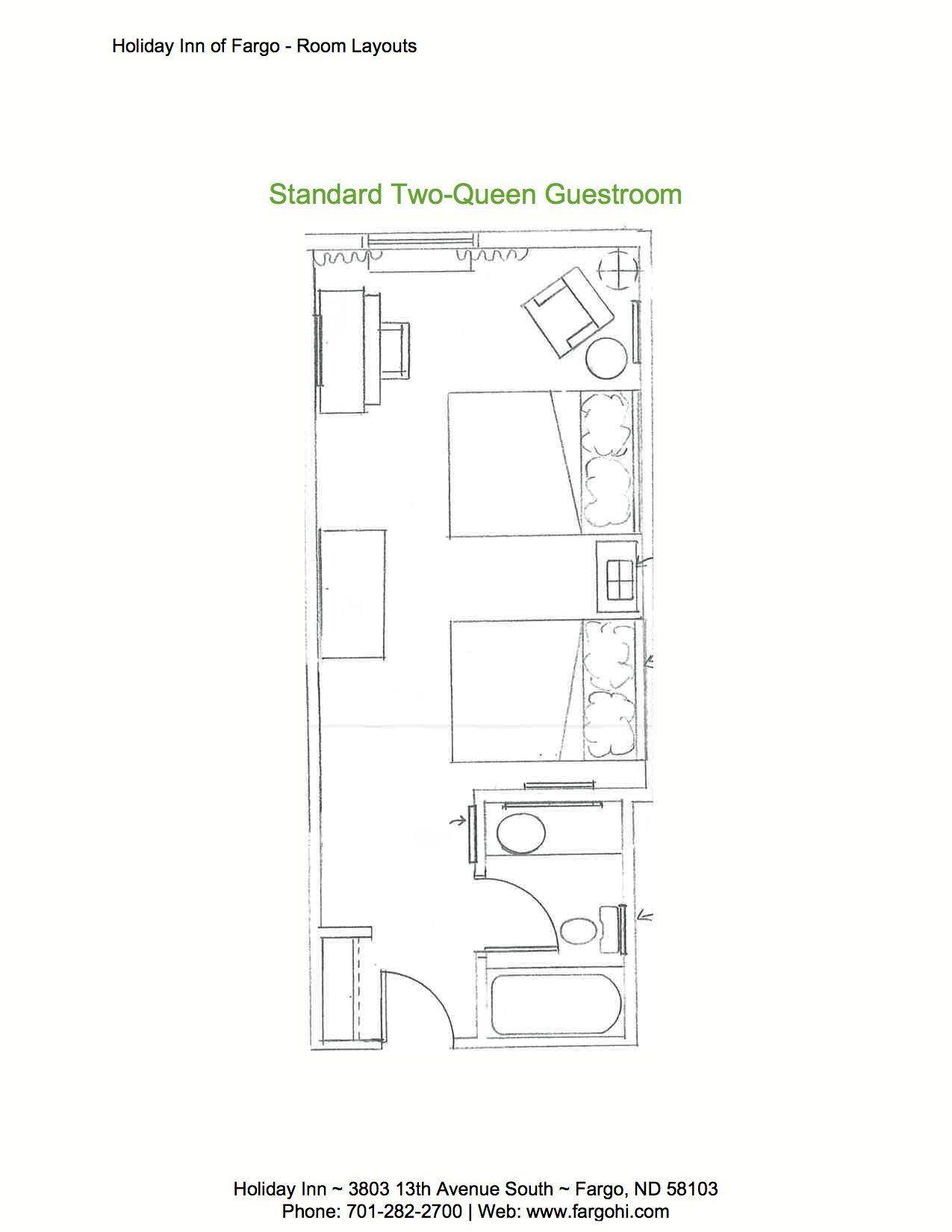 Standard Hotel Room: Standard Hotel Rooms Fargo, ND & Moorhead, MN
